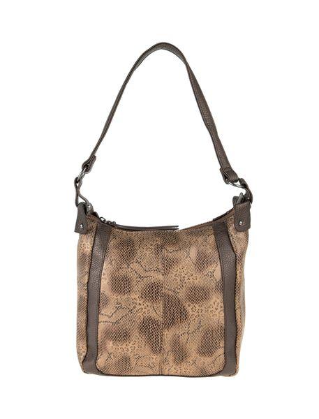 کیف دوشی روزمره زنانه - قهوه اي روشن - 1