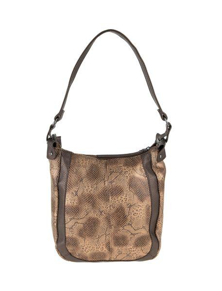 کیف دوشی روزمره زنانه - قهوه اي روشن - 2