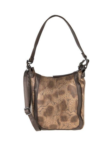 کیف دوشی روزمره زنانه - قهوه اي روشن - 3