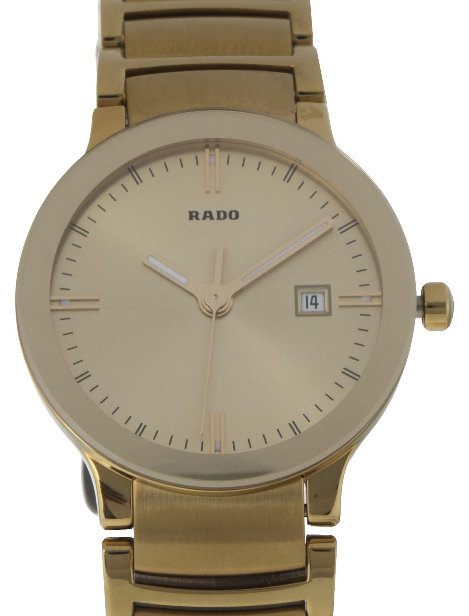 ساعت مچی عقربه ای زنانه - رادو - طلايي - 2