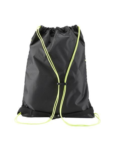 کوله پشتی ورزشی بزرگسال Running Drawstring - مشکي و سبز فسفري - 2
