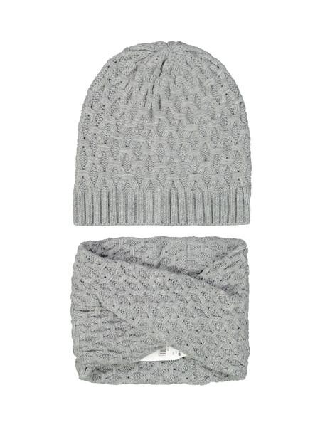 ست کلاه و شال گردن زنانه - تیفوسی