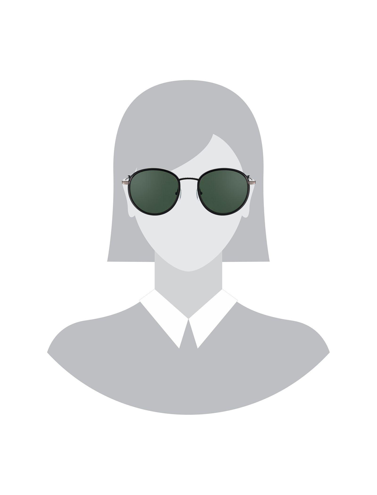 عینک آفتابی گرد زنانه - ساندرو - زغالي      - 5