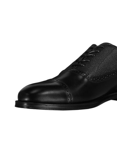 کفش رسمی چرم مردانه - مشکي - 6