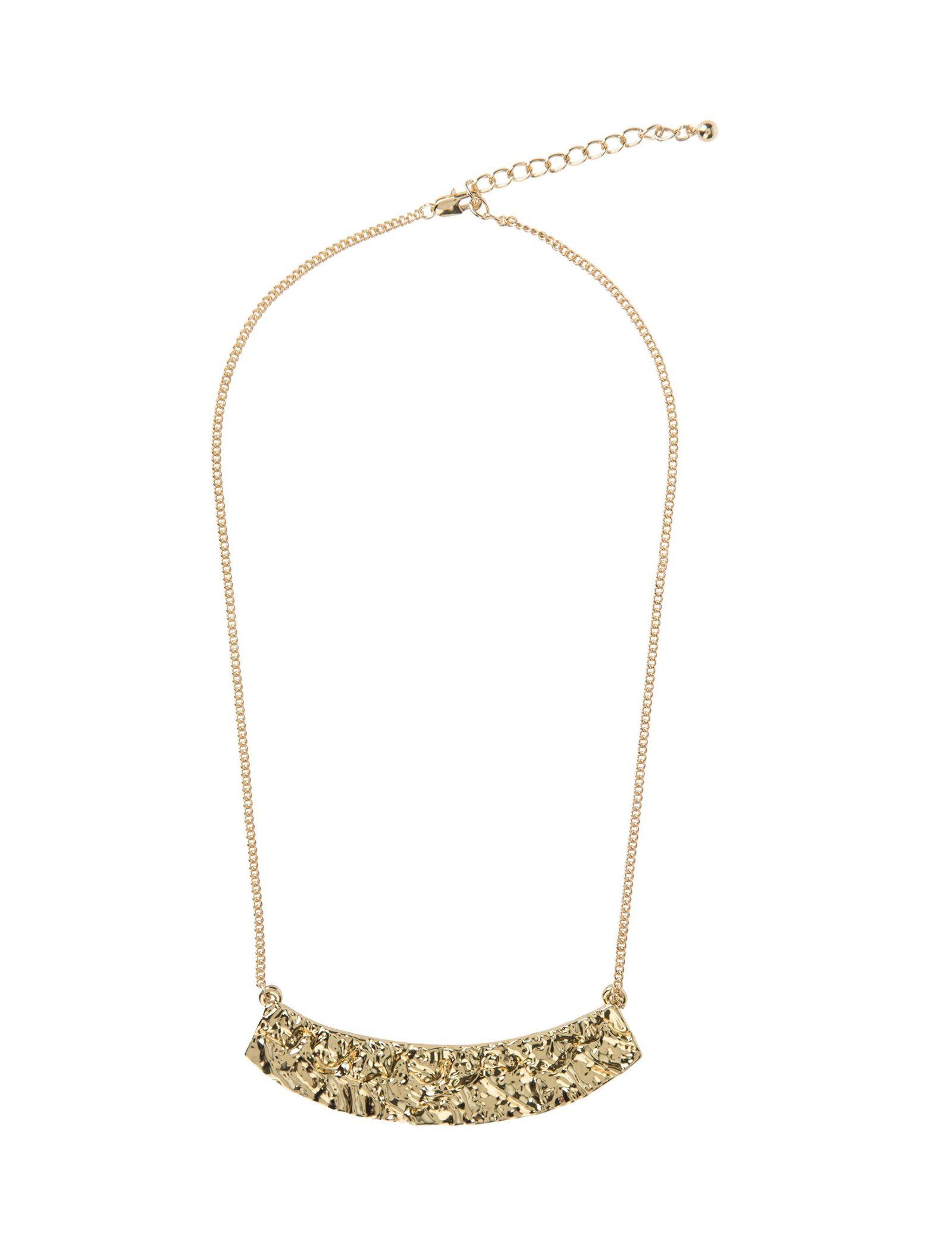 گردبند زنجیری زنانه - پی سز - طلايي - 1