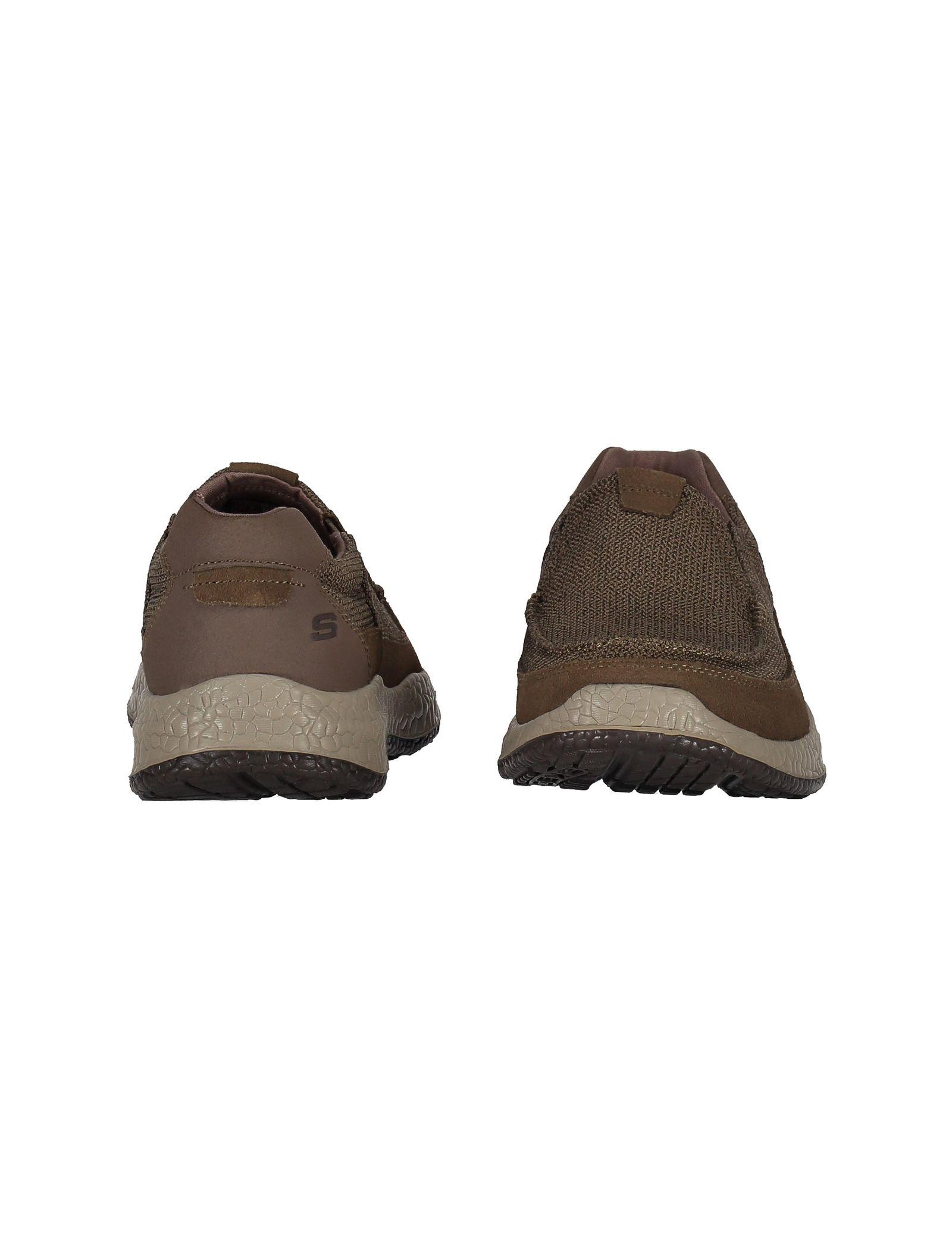 کفش راحتی پارچه ای مردانه Bursen Kinto - اسکچرز - قهوه اي روشن - 4