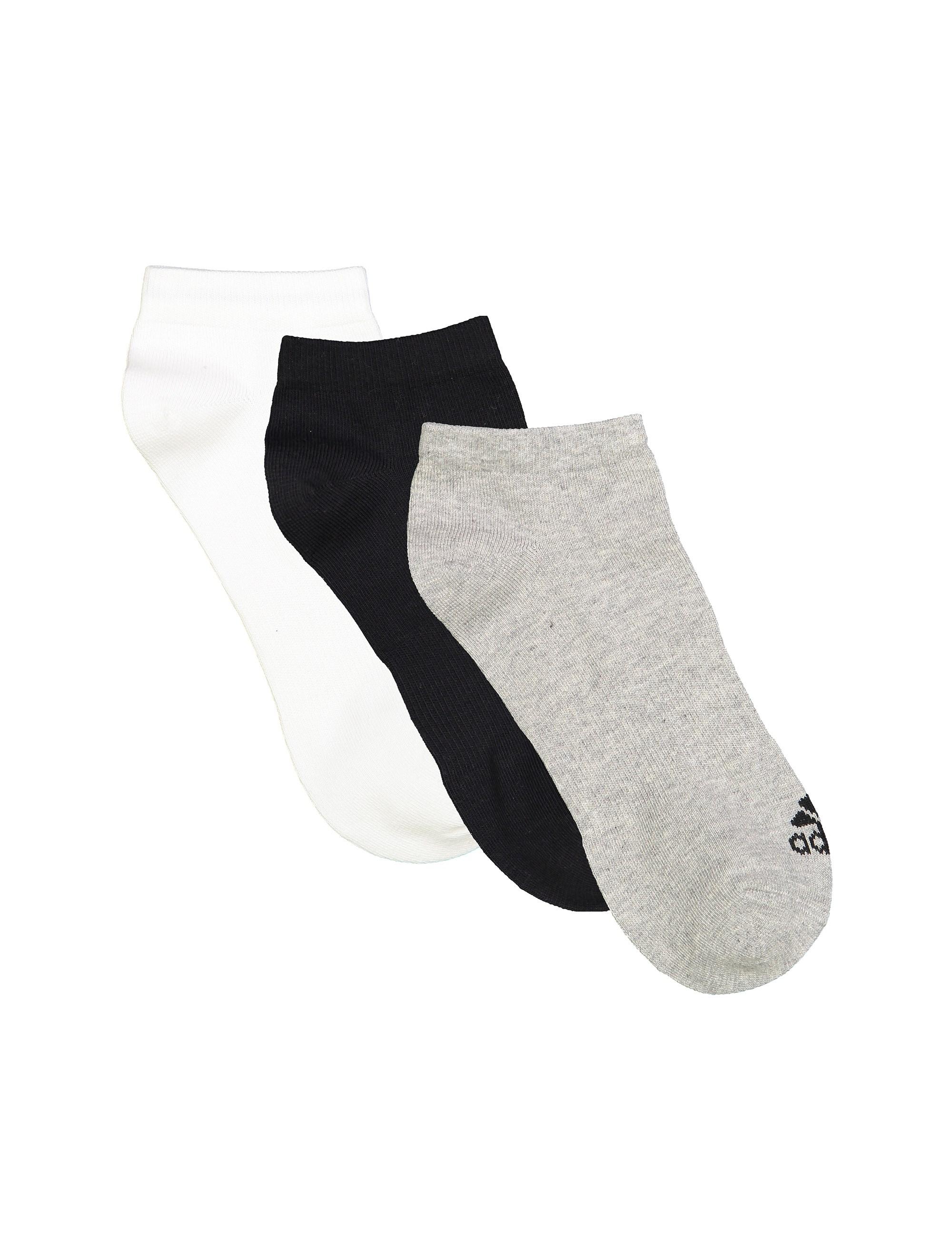 جوراب ساق کوتاه بزرگسال بسته 3 عددی