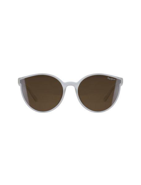 عینک آفتابی گربه ای زنانه - بي رنگ - 1