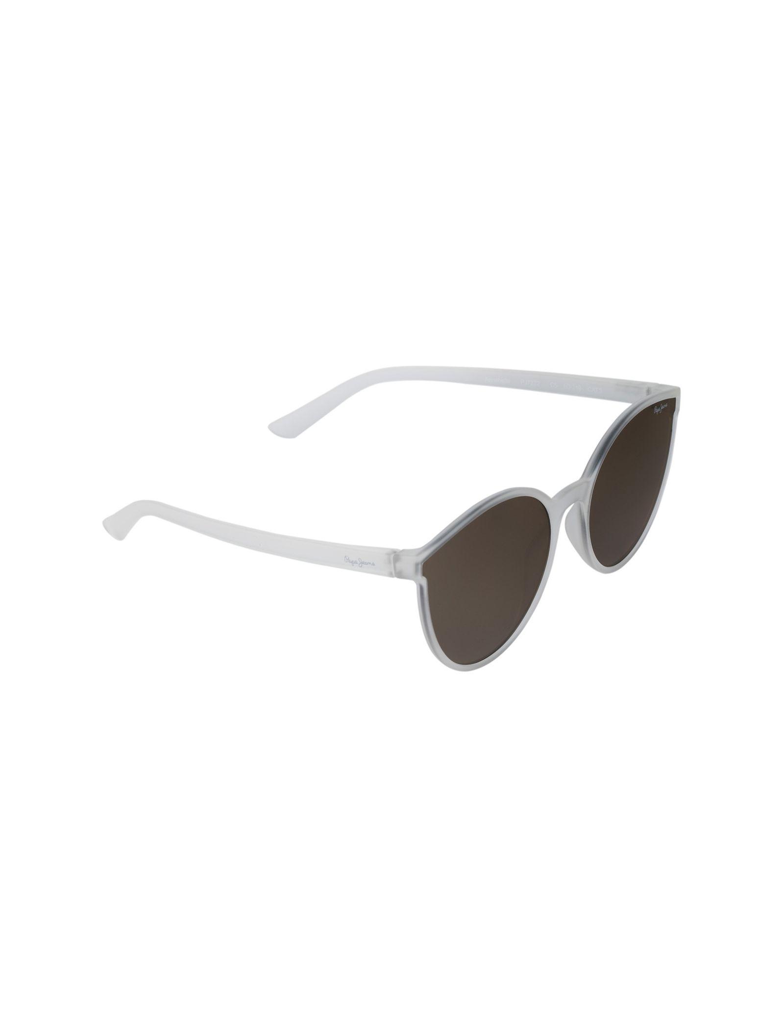عینک آفتابی گربه ای زنانه - پپه جینز - بي رنگ - 2