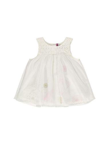 پیراهن نوزادی بدون آستین نوزادی دخترانه