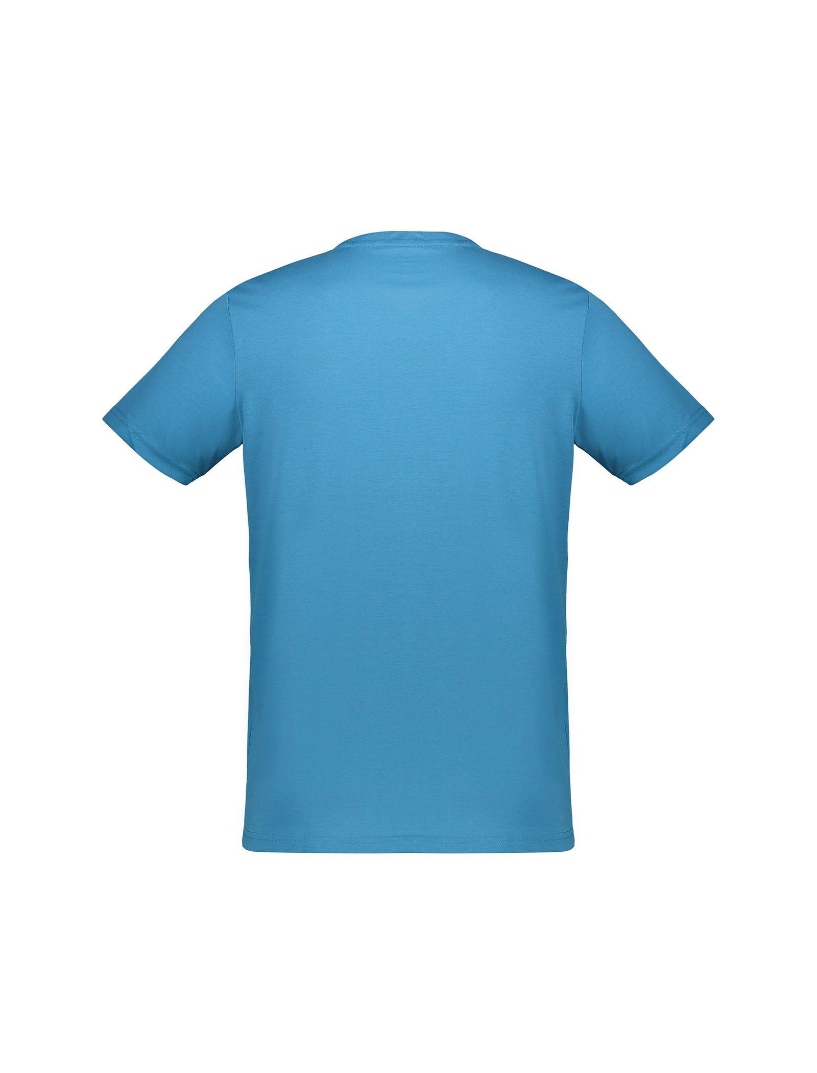 تی شرت یقه گرد مردانه - جک اند جونز - آبي - 2