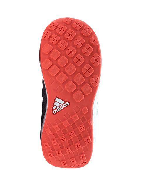 کفش دویدن بندی پسرانه RapidaRun - آدیداس - نقره اي و صورتي - 2