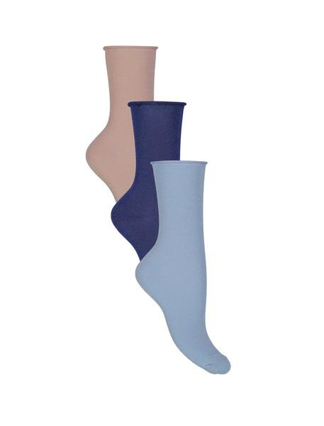 جوراب ساق متوسط زنانه بسته 3 عددی - اونلی