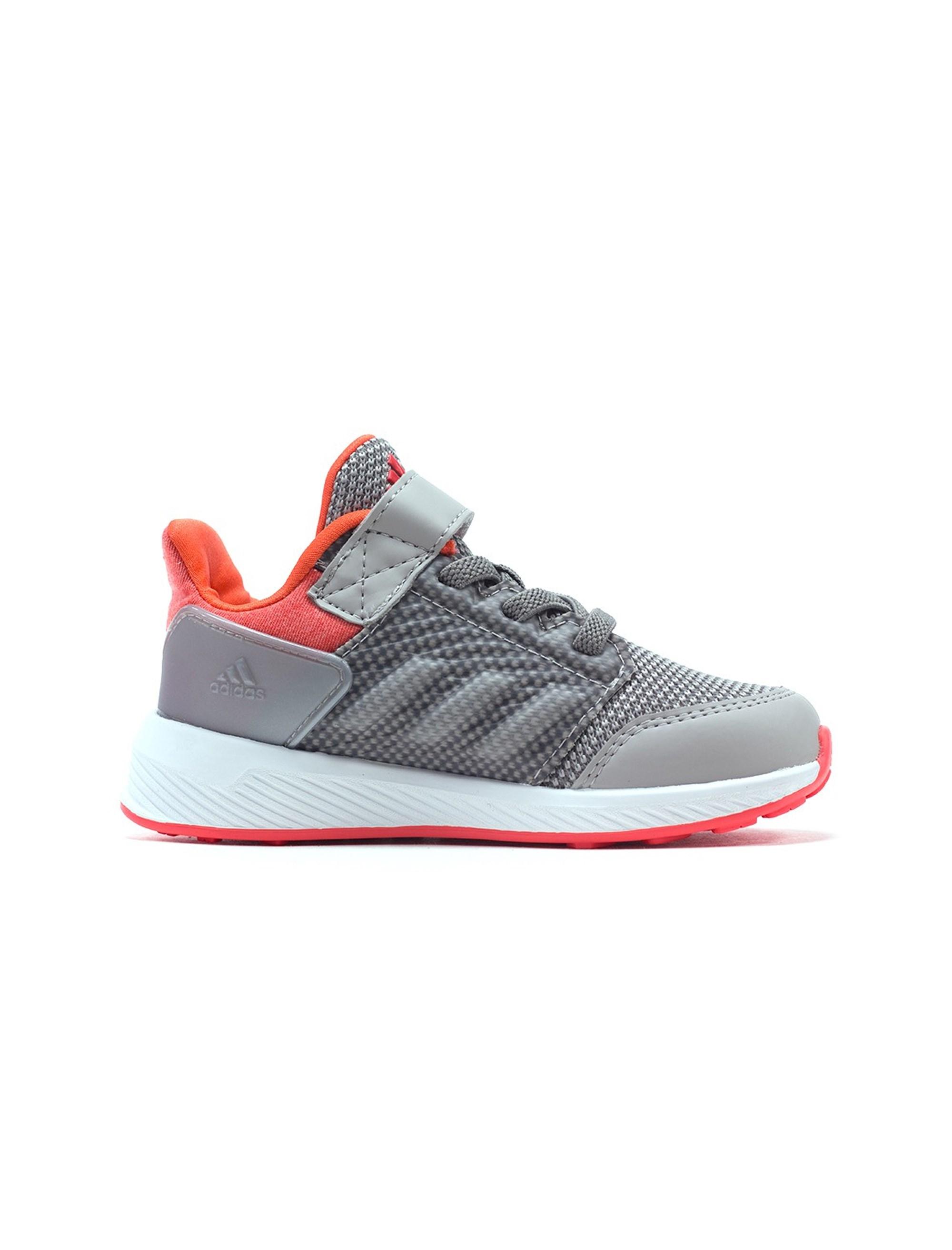 کفش دویدن بندی پسرانه RapidaRun - آدیداس - نقره اي و صورتي - 5