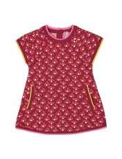 پیراهن بافت نوزادی - ارکسترا - قرمز - 1