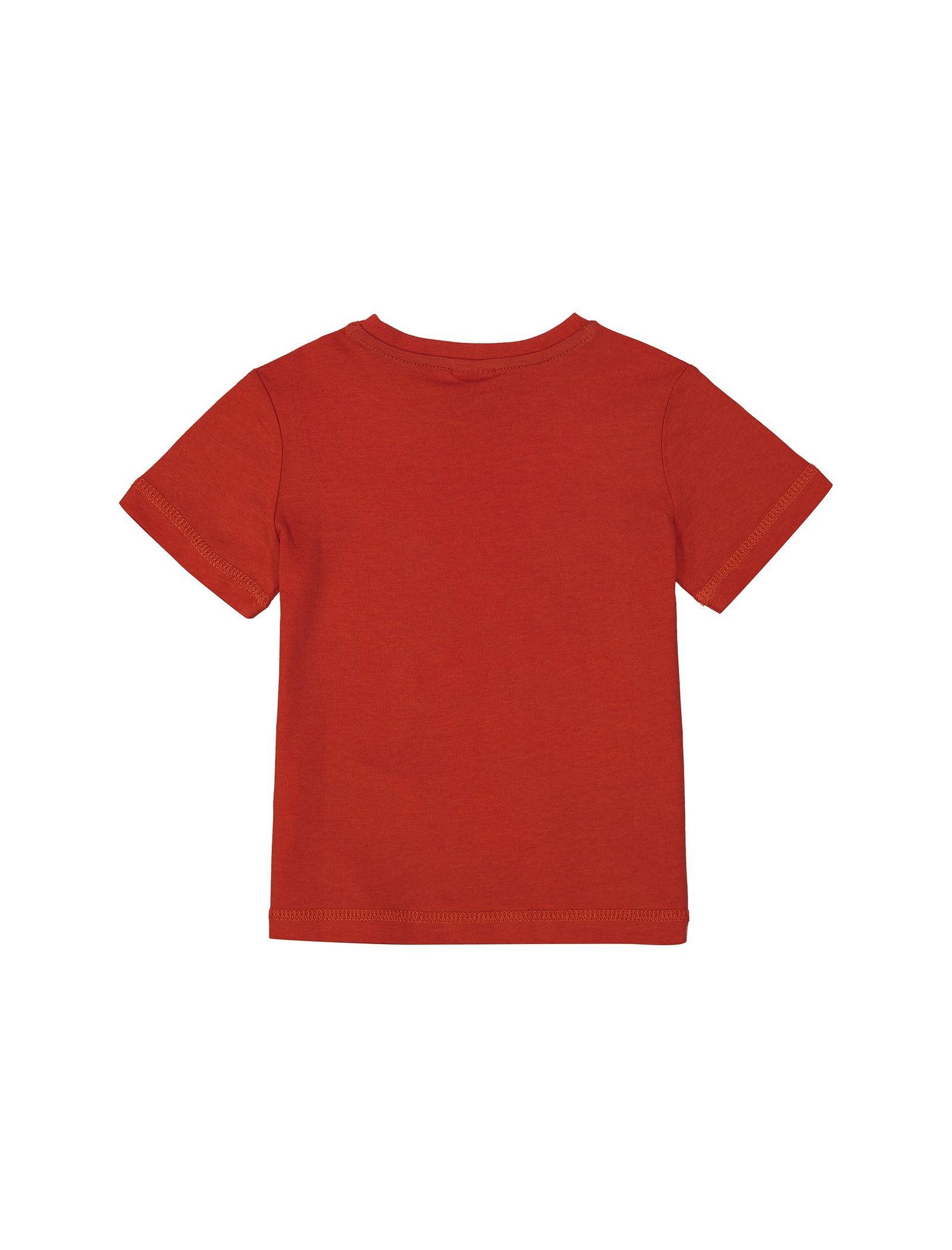 تی شرت نخی یقه گرد پسرانه - اس.اولیور - قرمز - 2