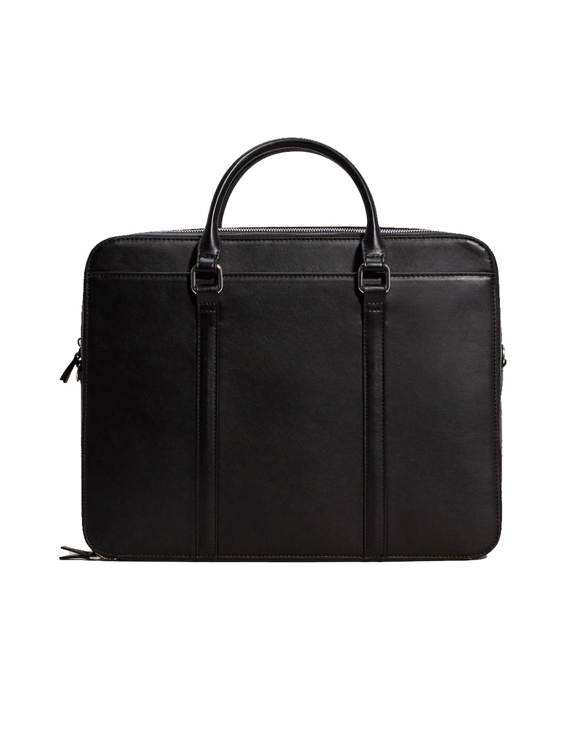کیف روزمره دستی مردانه - مانگو - مشکي - 1