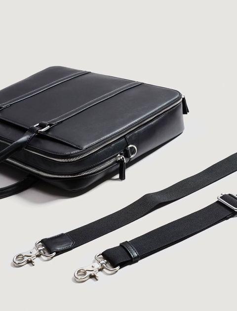کیف روزمره دستی مردانه - مانگو - مشکي - 2