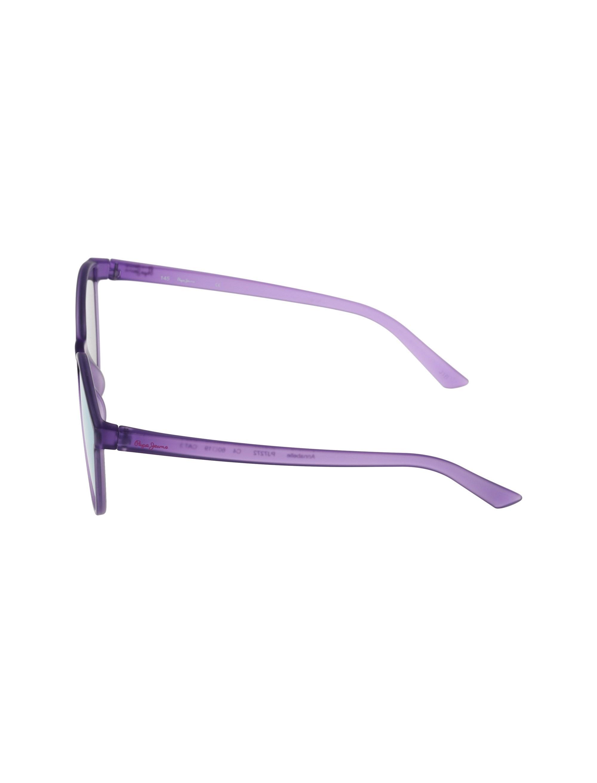 عینک آفتابی گربه ای زنانه - بنفش روشن - 3