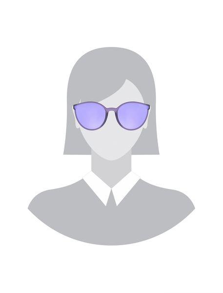 عینک آفتابی گربه ای زنانه - بنفش روشن - 5