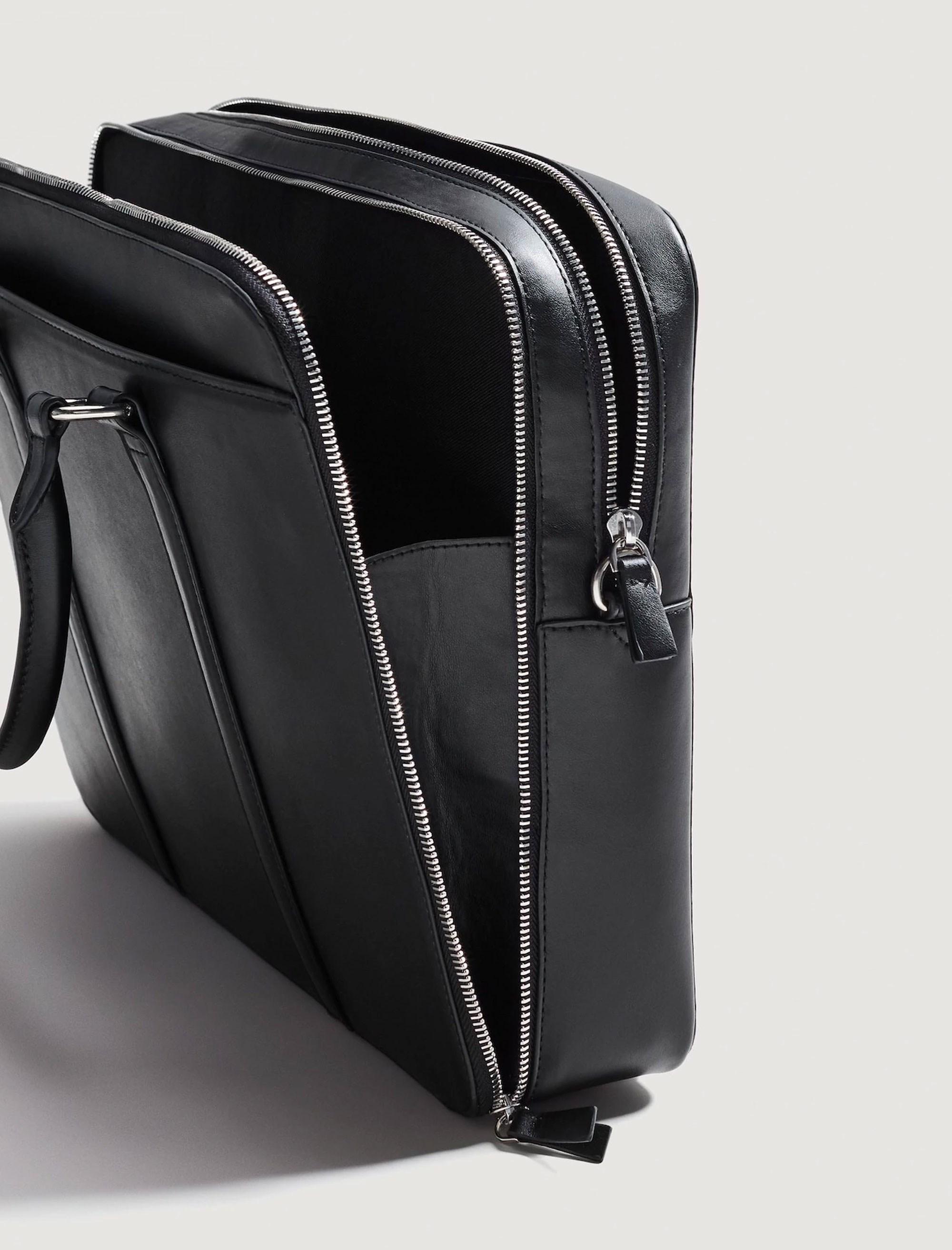 کیف روزمره دستی مردانه - مانگو - مشکي - 4