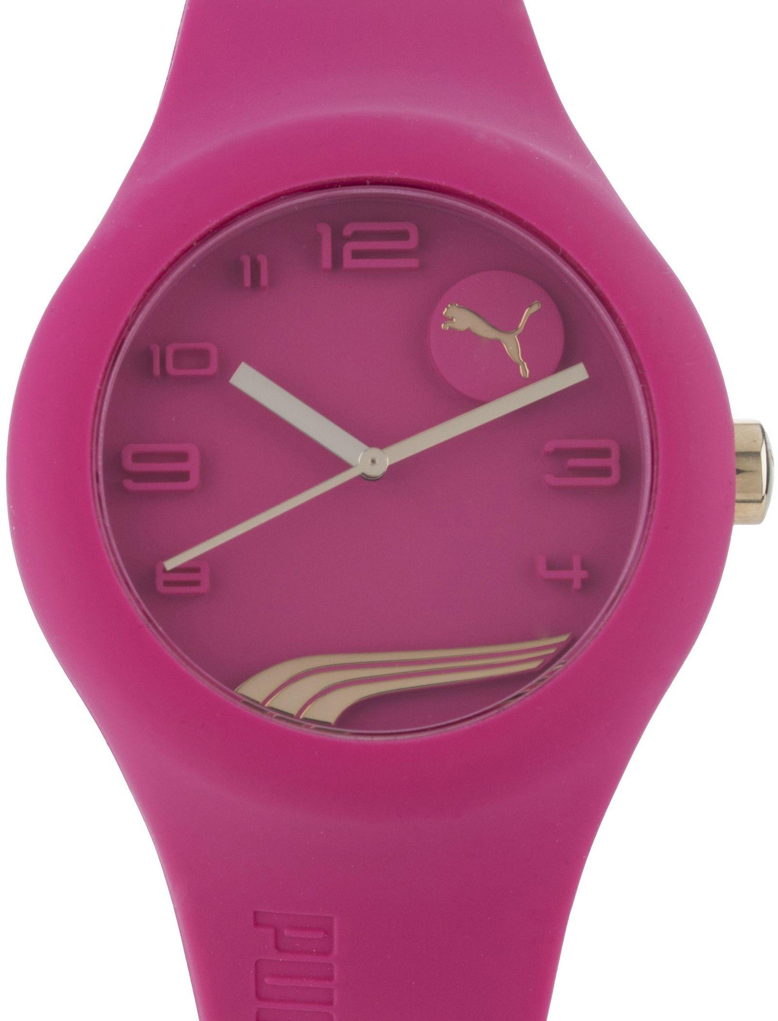 ساعت مچی عقربه ای زنانه - پوما - صورتي - 2