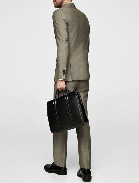 کیف روزمره دستی مردانه - مشکي - 5