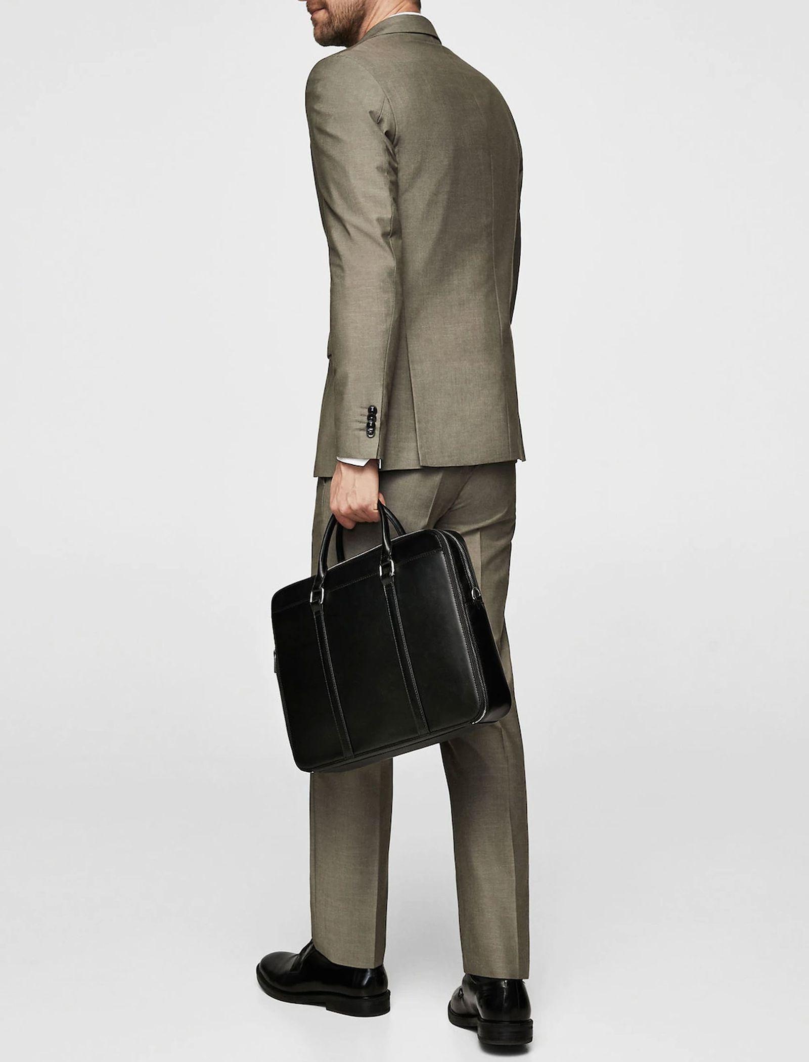 کیف روزمره دستی مردانه - مانگو - مشکي - 5