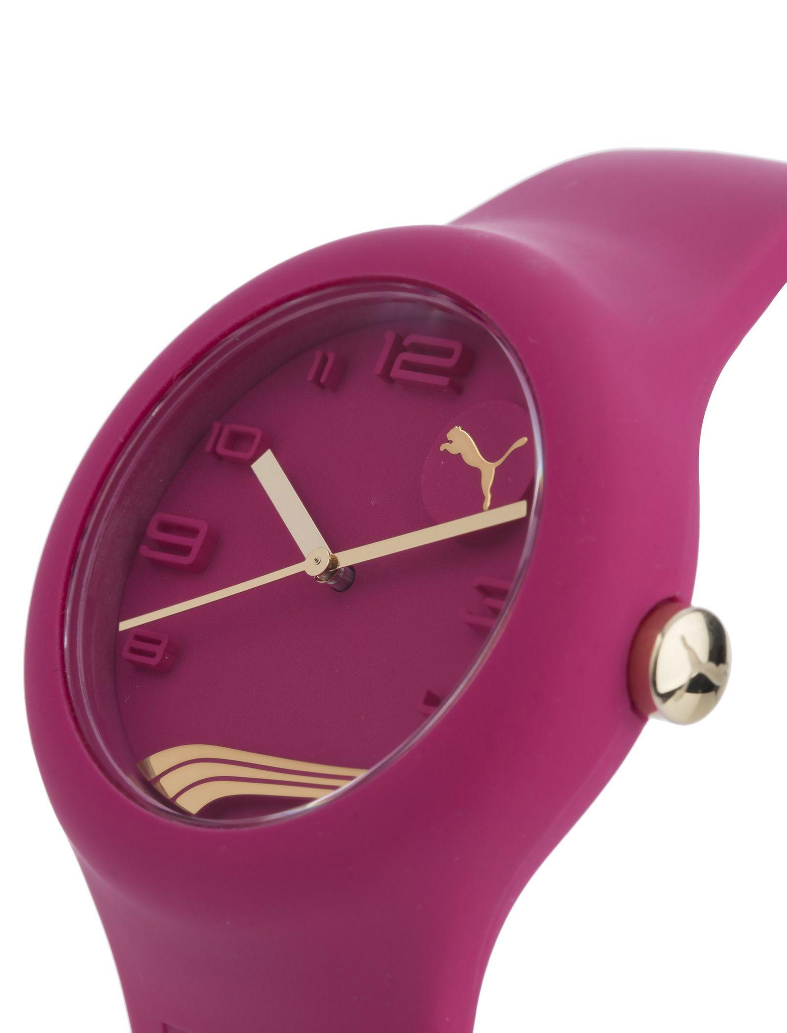 ساعت مچی عقربه ای زنانه - پوما - صورتي - 3