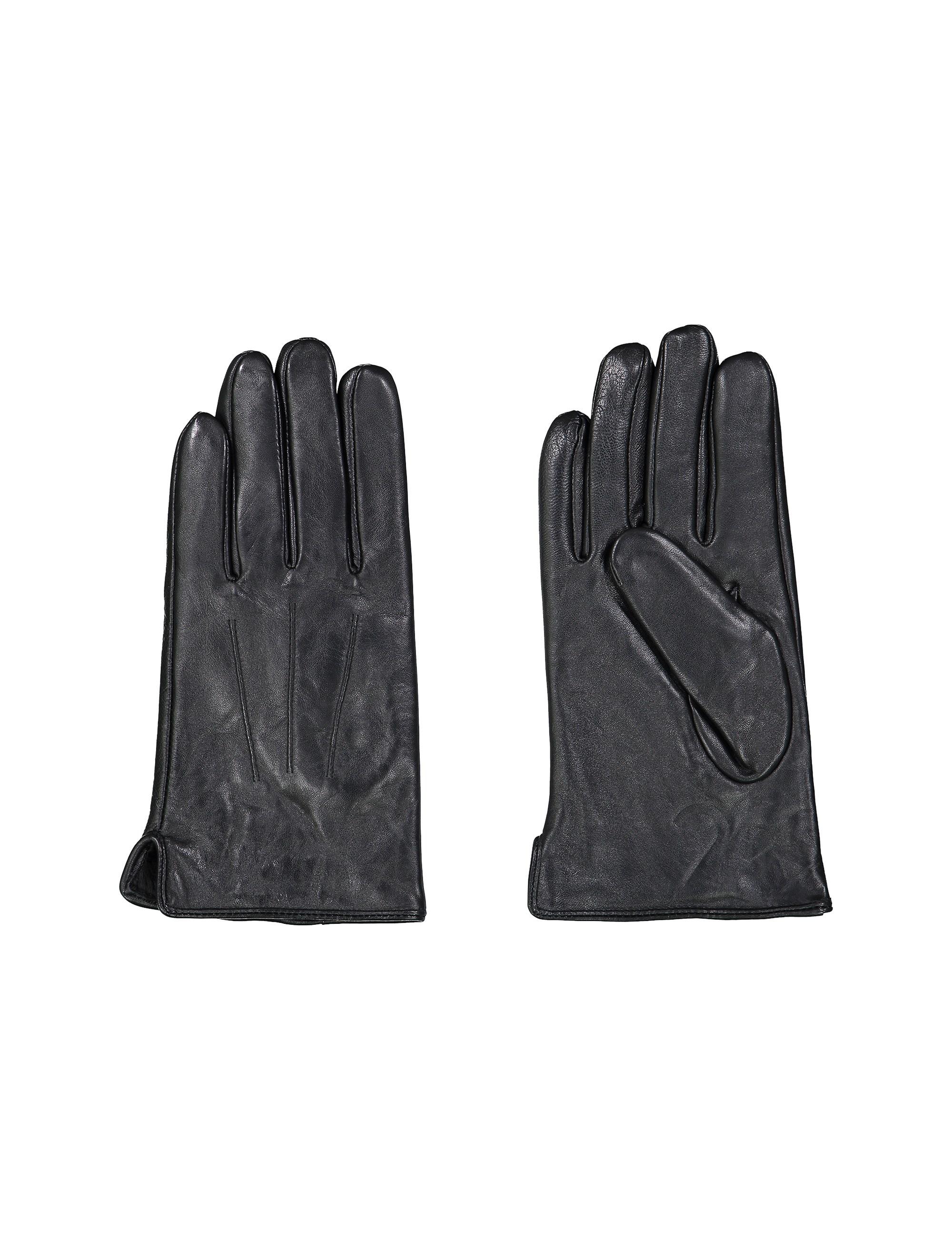 دستکش چرم مردانه - سلیو