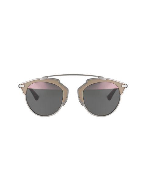 عینک آفتابی پنتوس زنانه - دیور - بژ و نقره اي - 1