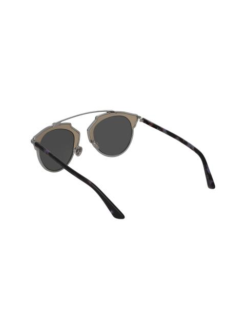 عینک آفتابی پنتوس زنانه - دیور - بژ و نقره اي - 4