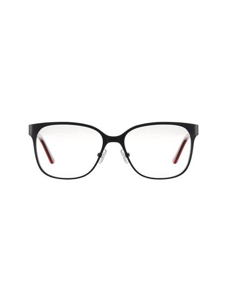 عینک طبی مربعی زنانه - مشکي - 1