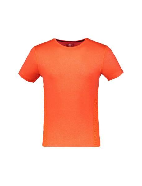 تی شرت ورزشی آستین کوتاه مردانه - نارنجي - 1