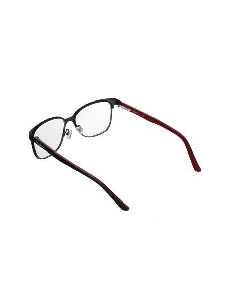 عینک طبی مربعی زنانه - مشکي - 4