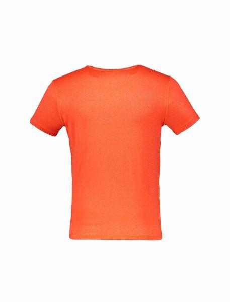 تی شرت ورزشی آستین کوتاه مردانه - نارنجي - 2