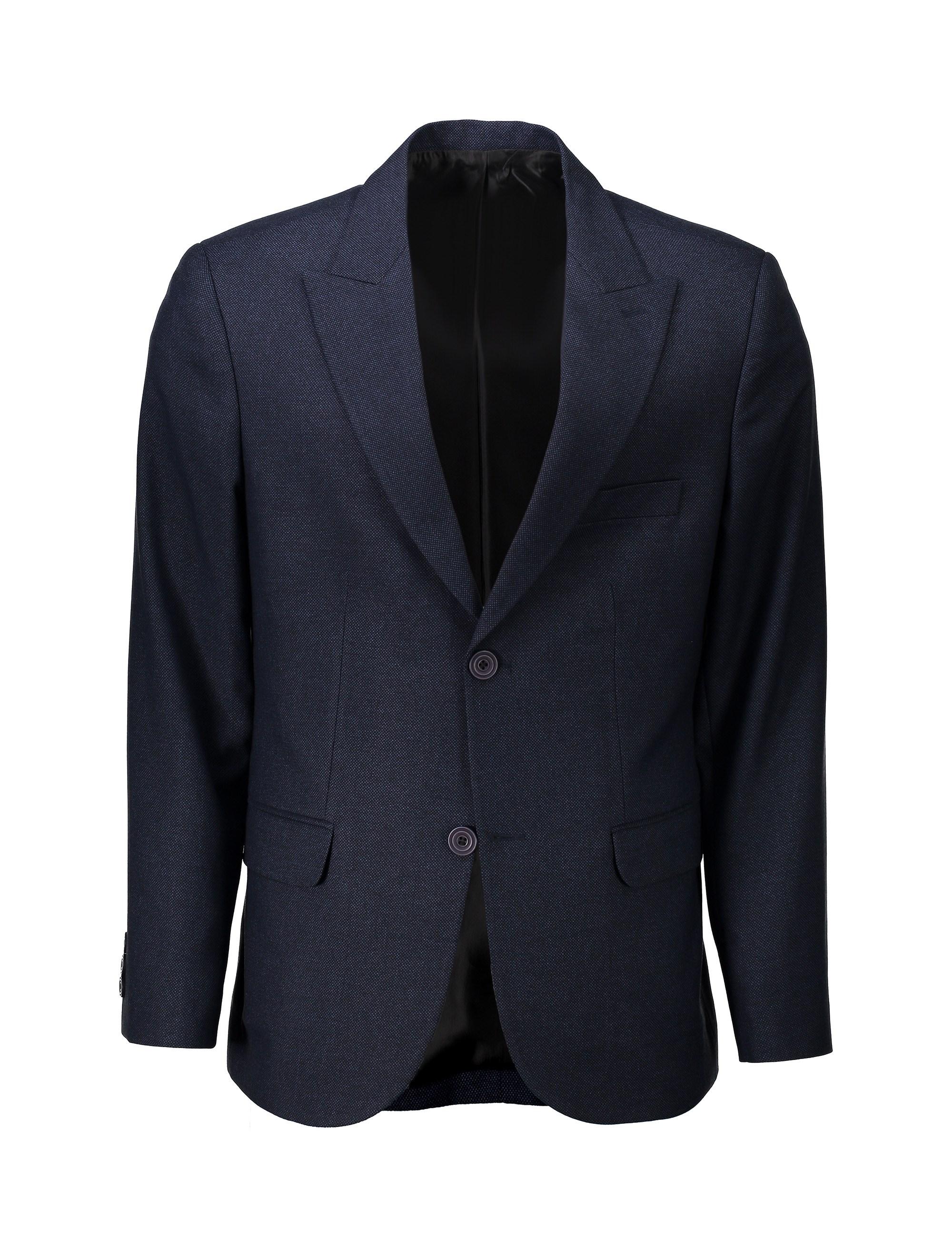 کت تک رسمی مردانه - خانه مد راد - سرمه اي - 1