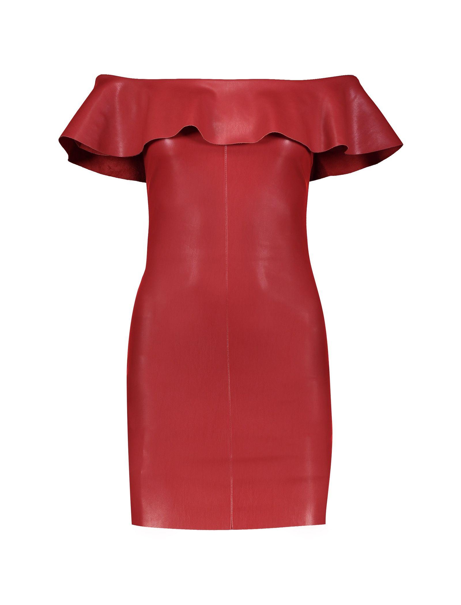 پیراهن کوتاه زنانه - مانگو - قرمز - 1