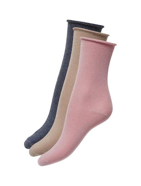 جوراب ساق متوسط زنانه بسته سه عددی - اونلی