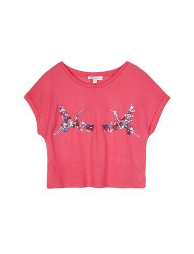 تی شرت ویسکوز یقه گرد دخترانه - بلوزو