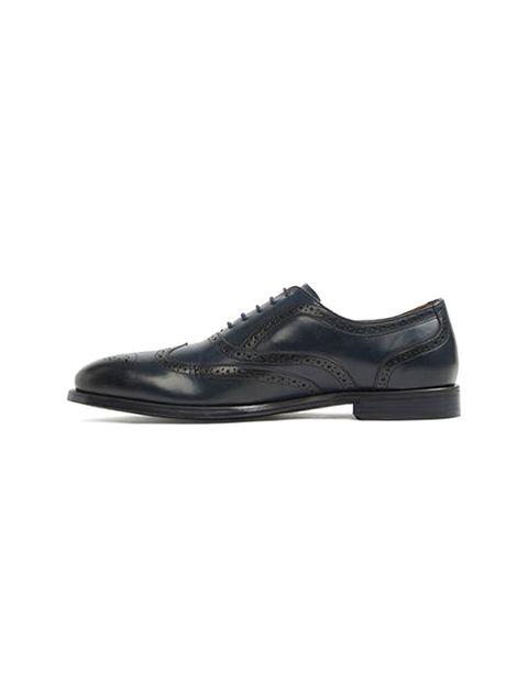 کفش اداری چرم مردانه - آلدو - سرمه اي - 4
