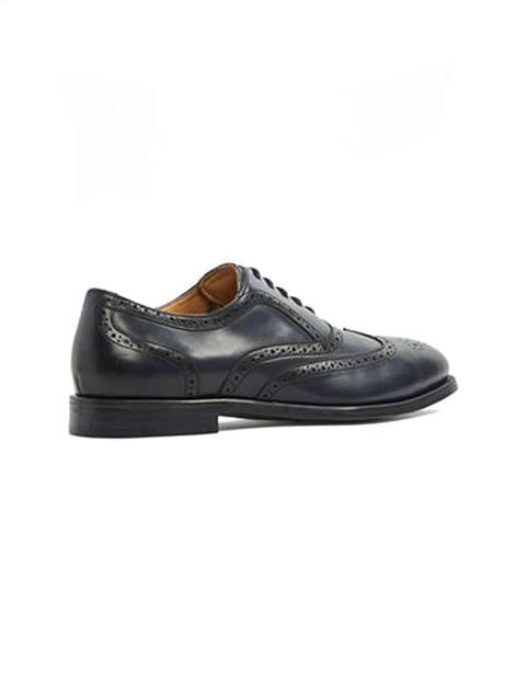 کفش اداری چرم مردانه - آلدو - سرمه اي - 2