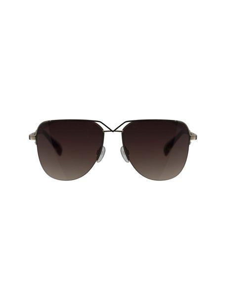 عینک آفتابی خلبانی زنانه - طلايي      - 1