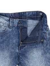 شلوار جین راسته پسرانه - آبي - 3