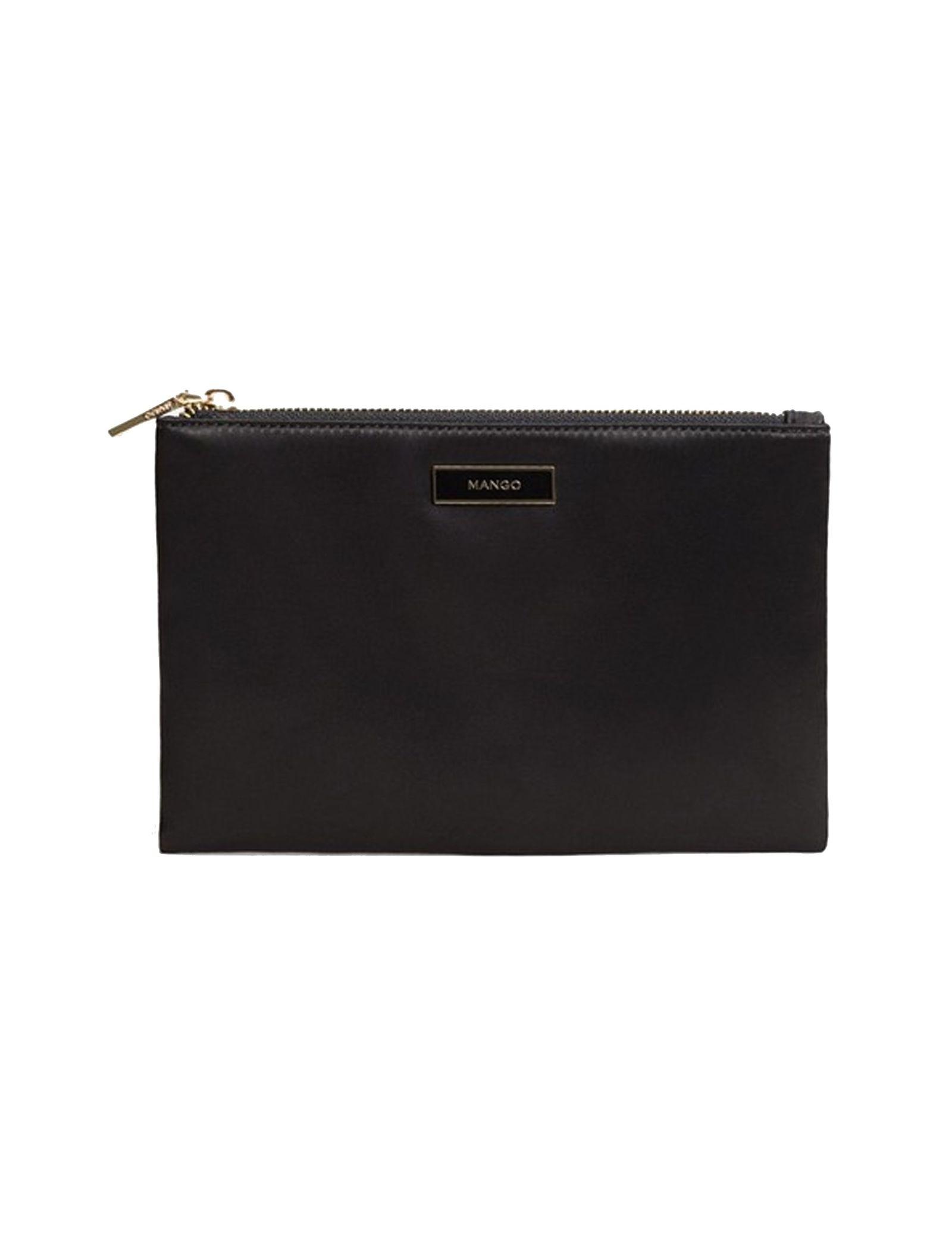 کیف لوازم آرایش زنانه - مانگو - مشکي - 1