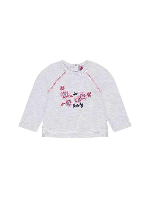 تی شرت نخی یقه گرد نوزادی دخترانه - ارکسترا
