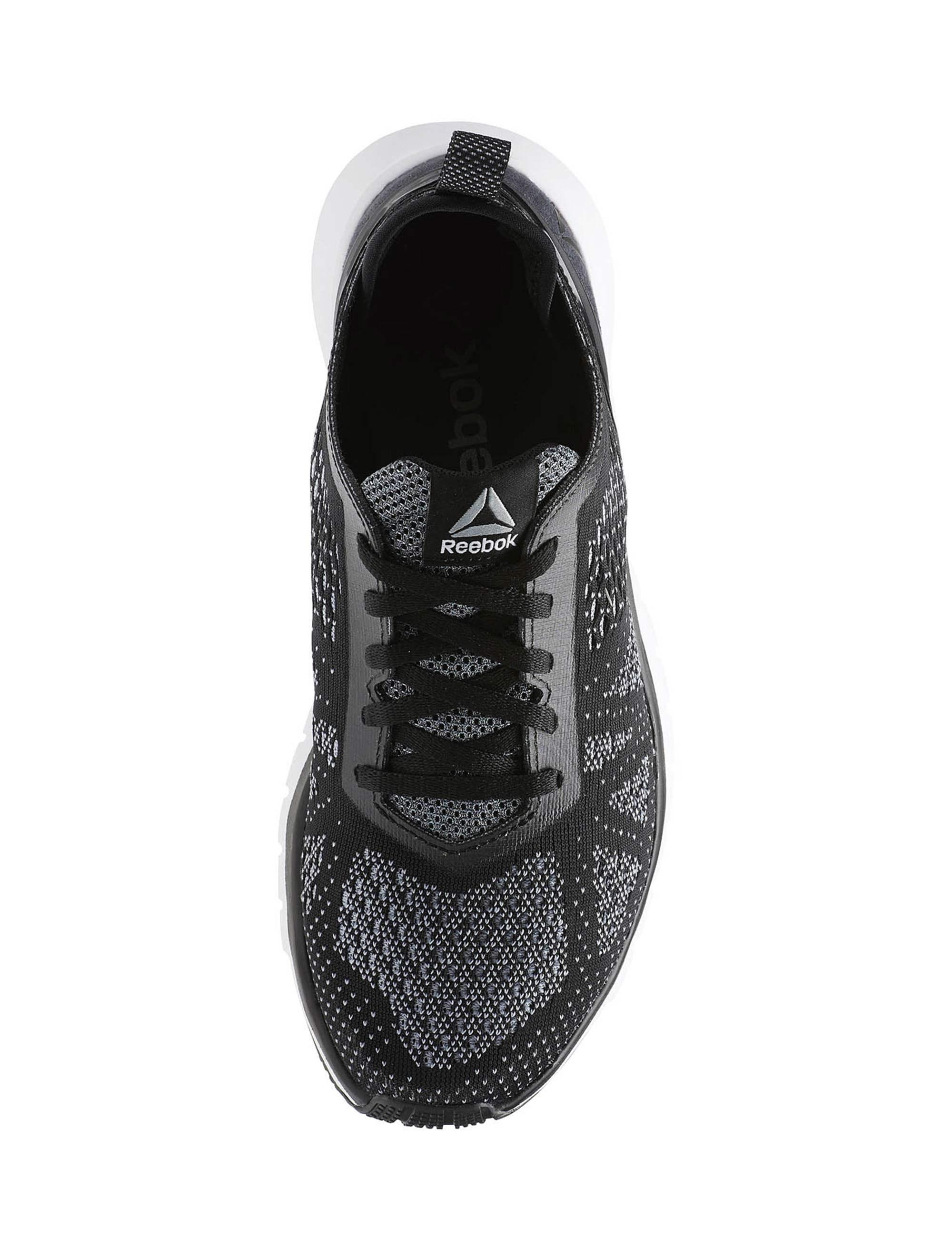 کفش مخصوص دویدن زنانه ریباک مدل Smooth Clip Ultraknit - مشکي - 5