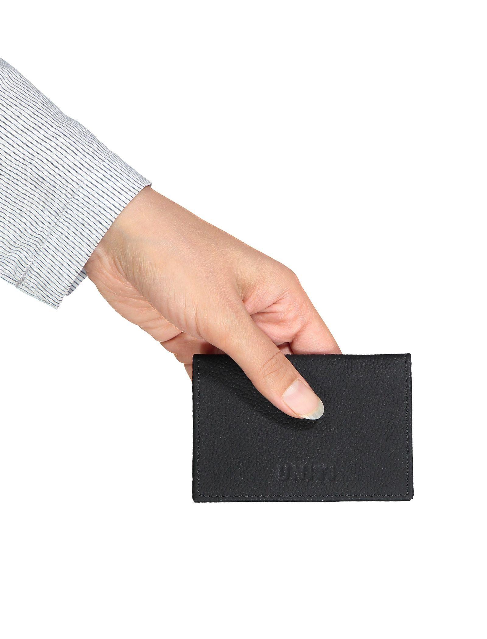کیف کارت بزرگسال - یونیتی - مشکي - 5