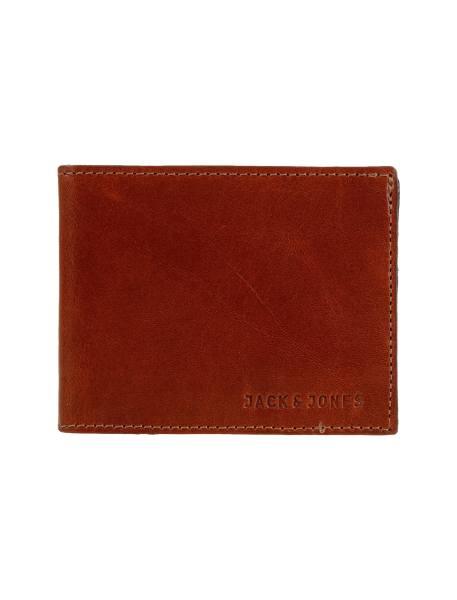 کیف پول چرم کتابی مردانه - عسلي - 1