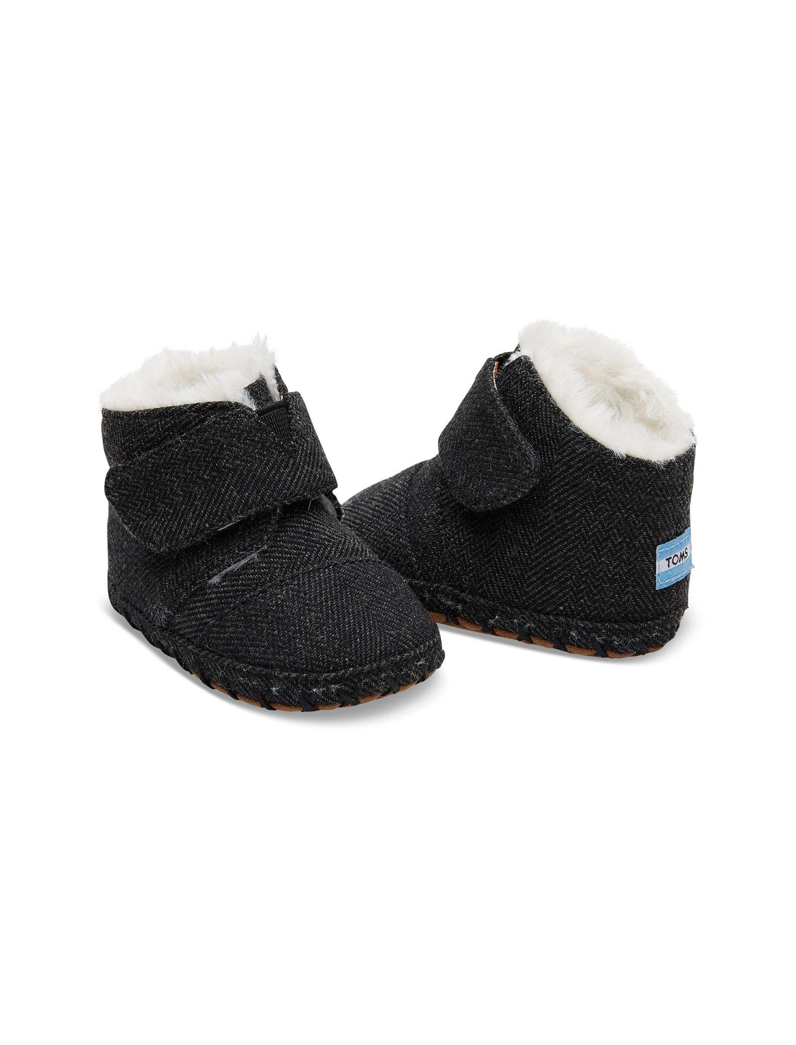 کفش پارچه ای چسبی نوزادی - تامز - مشکي - 3